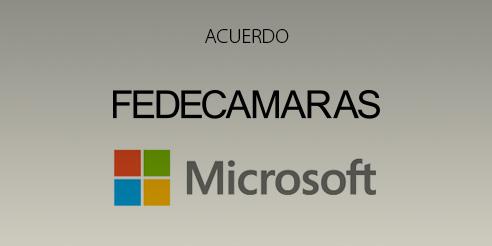 Acuerdo Fedecámaras - Microsoft