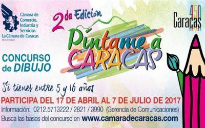 2° edición de Píntame a Caracas para niños y jóvenes entre 5 y 16 años