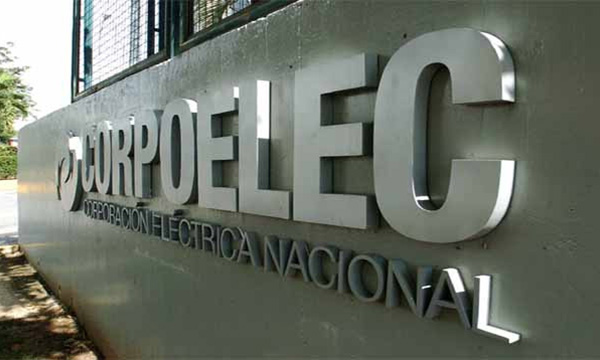 Corpoelec: La demanda eléctrica se redujo en 2.490 megavatios