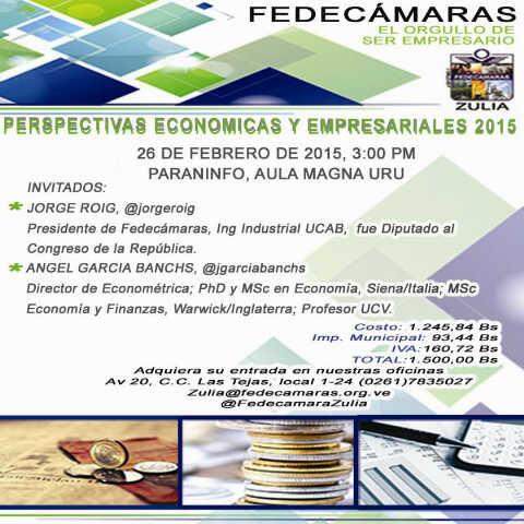 Perspectivas Económicas y Empresariales 2015
