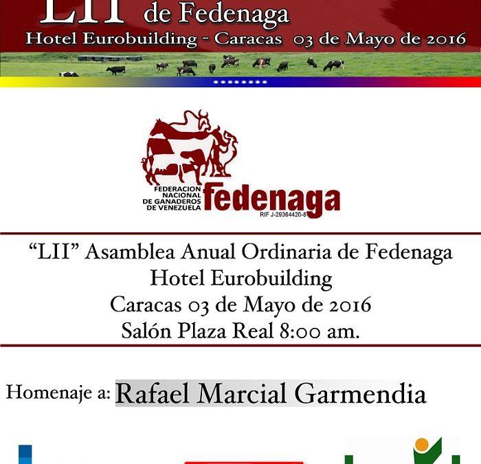 LII Asamblea Anual de Fedenaga