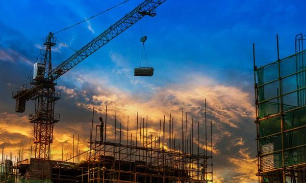 Sector construcción experimenta la peor caída