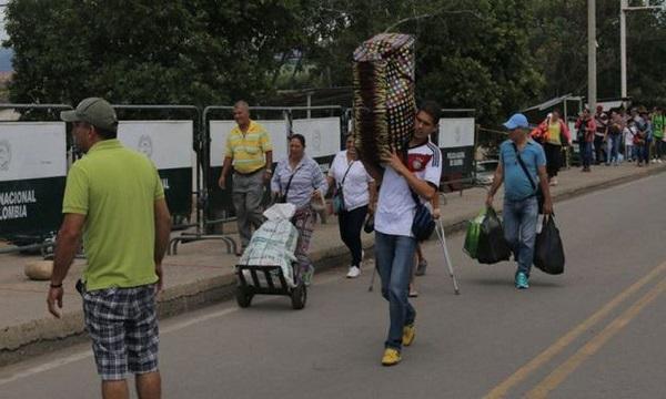 Fedecámaras Táchira reporta normalidad en paso de venezolanos a Cúcuta
