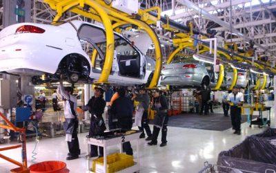 Producción de vehículos cayó 92,05% en julio