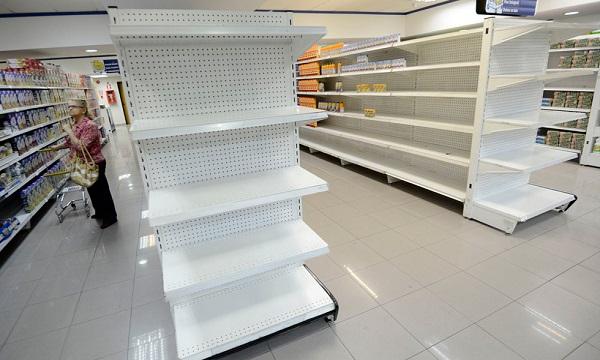 Fedecámaras: escasez de alimentos alcanzó el 90%