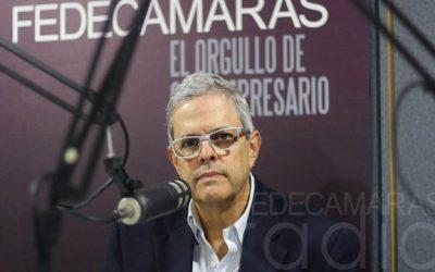 "Larrazábal: ""en Fedecámaras seguimos apostando al futuro, seguimos trabajando por Venezuela"""