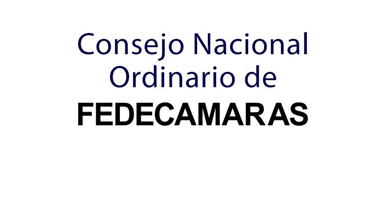 Convocatoria – Consejo Nacional Ordinario de FEDECAMARAS