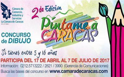 """Cámara de Caracas anuncia 2° edición de """"Píntame a Caracas"""""""