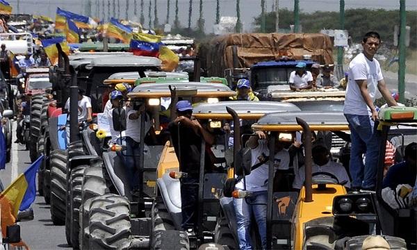 Productores agropecuarios exigen el restablecimiento del orden constitucional