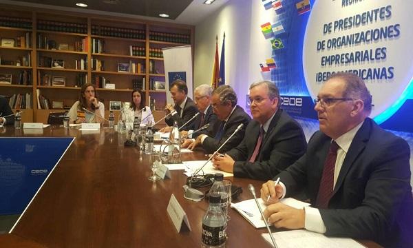 Declaración de los presidentes de Organizaciones Empresariales Iberoaméricanas sobre la situación de Venezuela