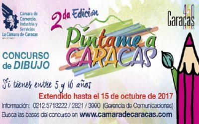 Extendemos Píntame a Caracas hasta el 15 de octubre