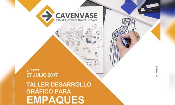 CAVENVASE ofrece taller desarrollo gráfico para empaques
