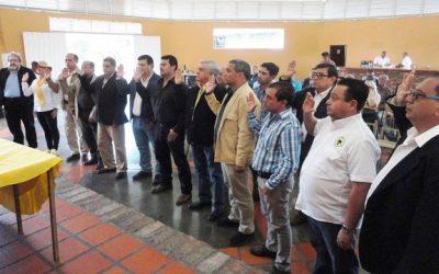Juramentada la Junta Directiva de Asogata 2017-2019