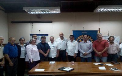Fedecámaras Bolívar promueve alianzas con Rotary Internacional