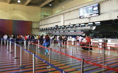 Sólo 11 aerolíneas internacionales operaran en Venezuela desde septiembre