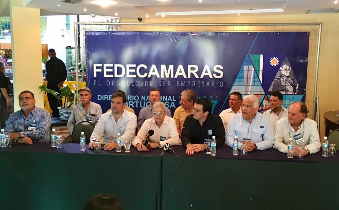 Primer Directorio Ordinario Nacional de Fedecámaras desde Portuguesa
