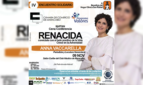 IV Encuentro Solidario de la CCM beneficiará a la institución humanitaria, Hogar Clínica San Rafael