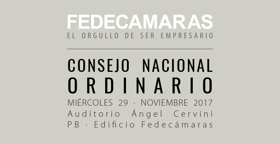 Consejo Nacional Ordinario de FEDECÁMARAS