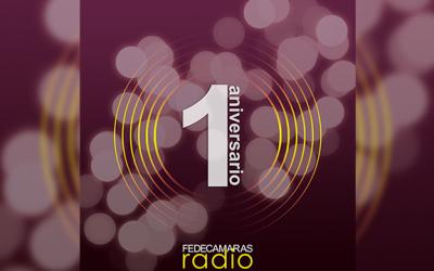 Fedecámaras Radio cumple un año al aire