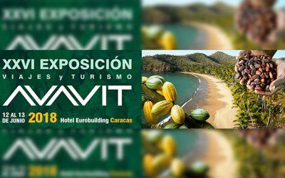 Exposición Viajes y Turismo AVAVIT 2018 se realizará el 12 y 13 de junio