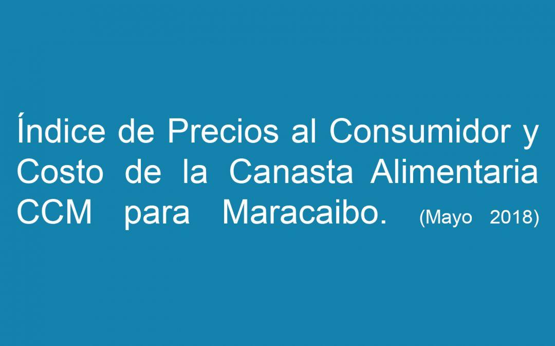 Índice de Precios al Consumidor y Costo de la Canasta Alimentaria (Mayo 2018