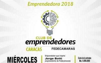 """1era Reunión """"Club Emprendedores de Caracas"""" en Fedecámaras"""