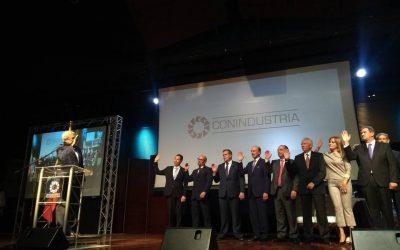 Adán Celis fue juramentado como el nuevo presidente de Conindustria