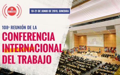 108.a reunión de la Conferencia Internacional del Trabajo