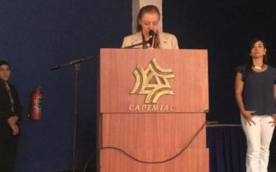 Elizabeth Brandt Lores es la nueva presidenta del Capemiac