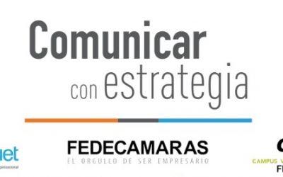"""Fedecámaras invita a participar en su programa de formación """"Comunicar con estrategia"""""""