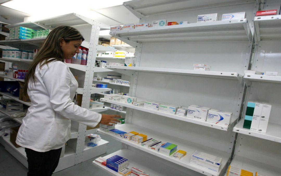 Estiman en 49,1 % la caída en producción de medicamentos