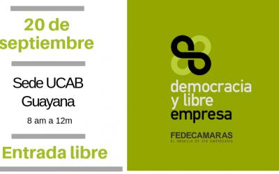 """Fedecámaras inicia ciclo de conferencias """"Democracia y Libre Empresa"""""""