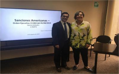 Cámara Petrolera de Venezuela promueve charlas sobre sanciones entre sus agremiados