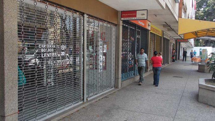 Comercios cerrados