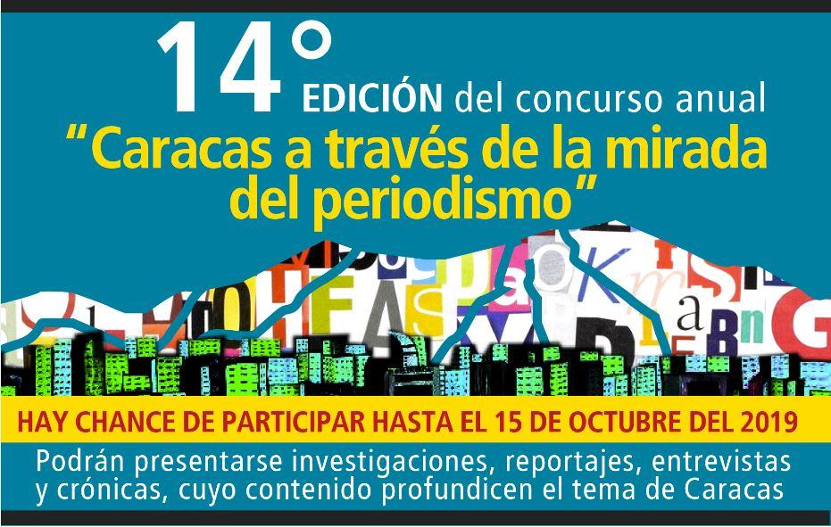 Aún puedes participar en el concurso sobre Caracas