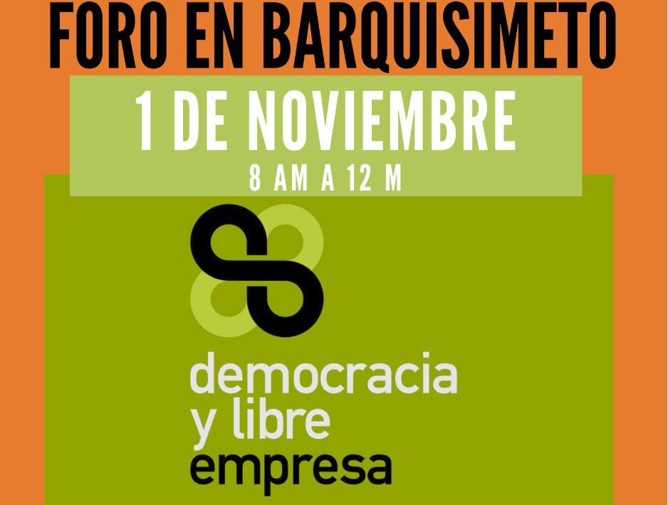 Democracia y Libre Empresa en Barquisimeto