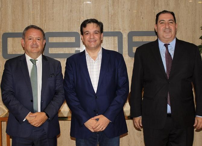 El presidente de los empresarios de Venezuela visita CEOE