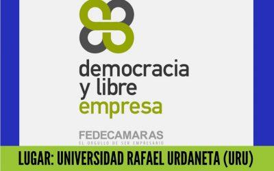 """Fedecámaras promueve la """"Democracia y Libre Empresa"""" en el Zulia"""