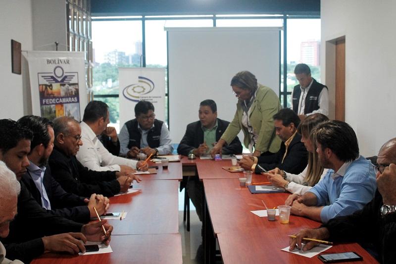 Fedecámaras Bolívar, sobre las necesidades del sector productivo
