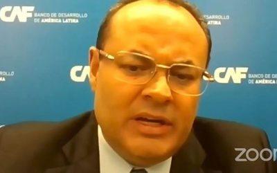 """CAF: """"Tenemos la voluntad de trabajar con el sector privado y el sector público de Venezuela"""""""