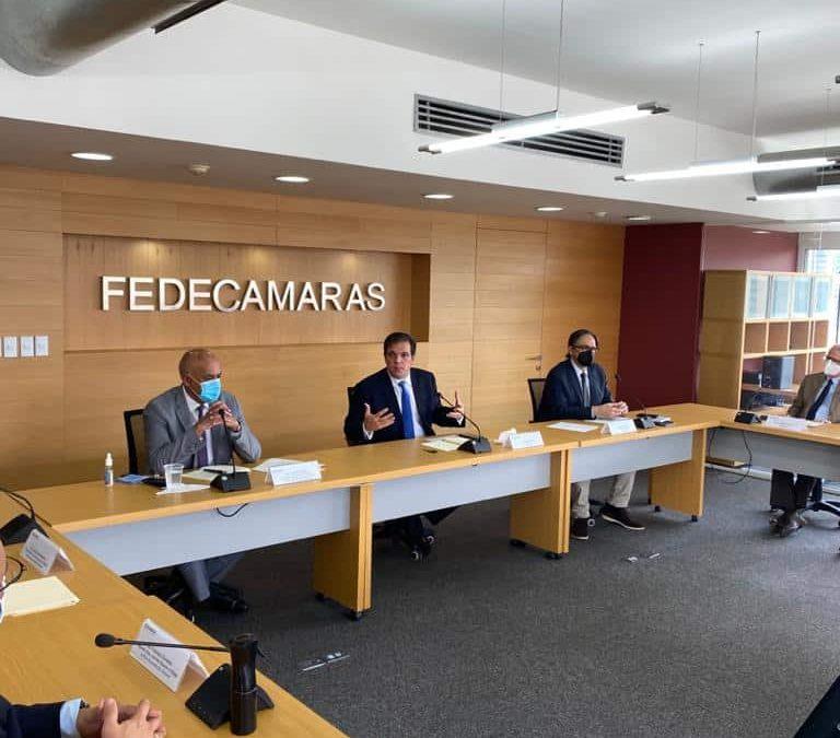 Fedecámaras y Comisión de Diálogo buscan ofrecer soluciones al país