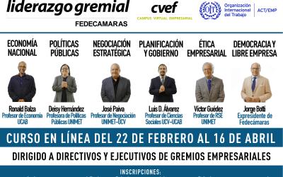 FEDECAMARAS fortalecerá las competencias de líderes gremiales