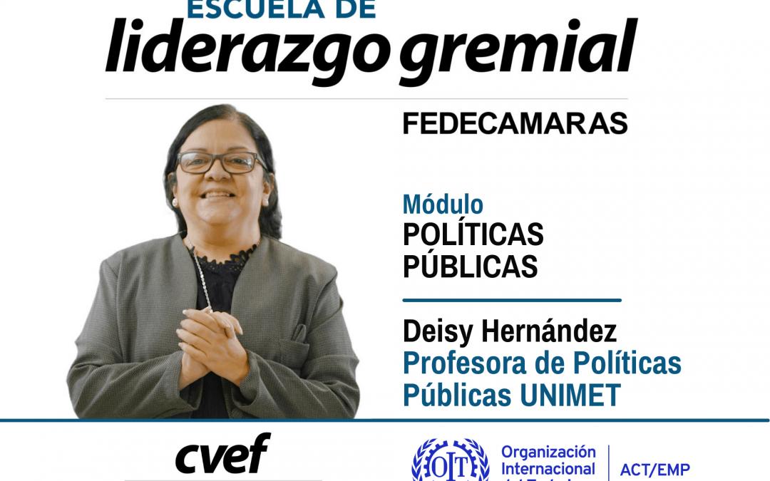 La alianza de actores de la sociedad es necesaria para impulsar las políticas públicas