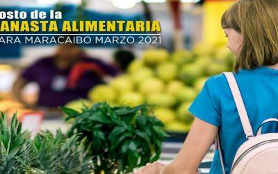 Canasta alimentaria en Maracaibo llegó a $290 en el mes de marzo