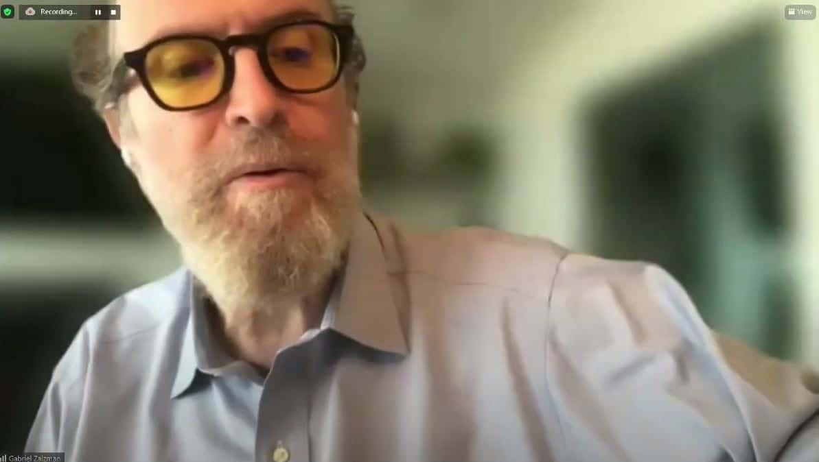 Gabriel Zalzman. Asamblea de Fedecámaras