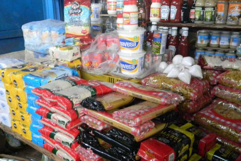 Productos. Maracaibo, canasta básica