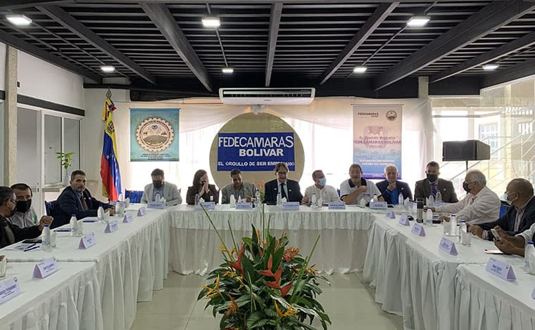 Fedecámaras Bolívar en Caicara del Orinoco