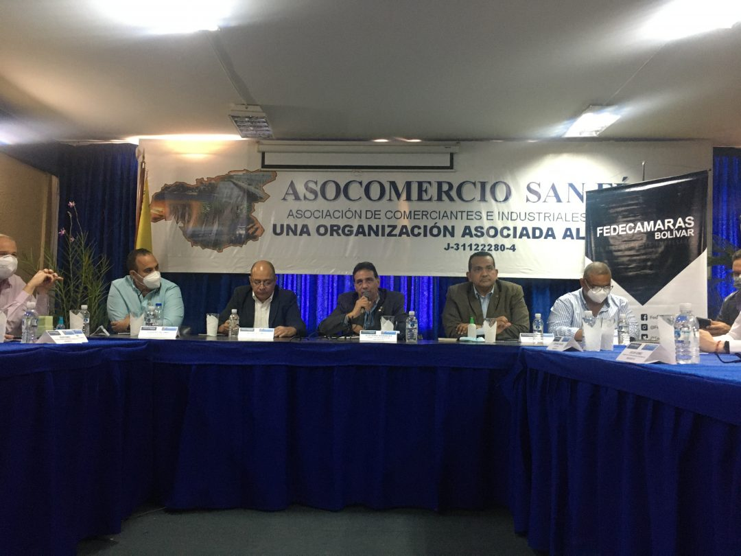 Reunión Fedecámaras Bolívar